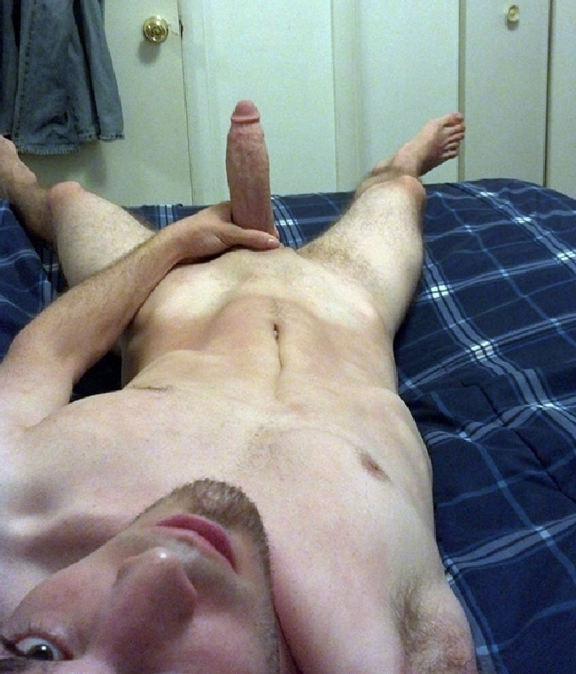 Nude Guy With Big Hard Cock