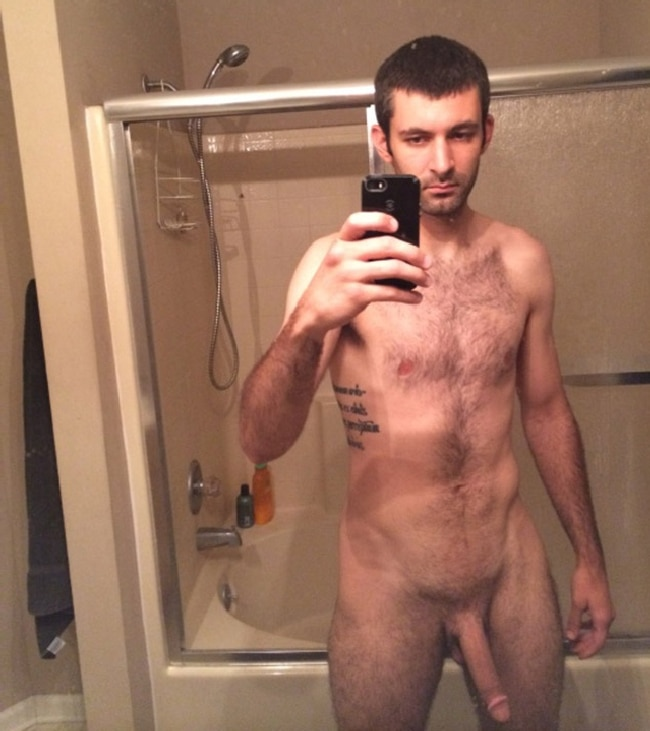 Nude Man With Long Cock