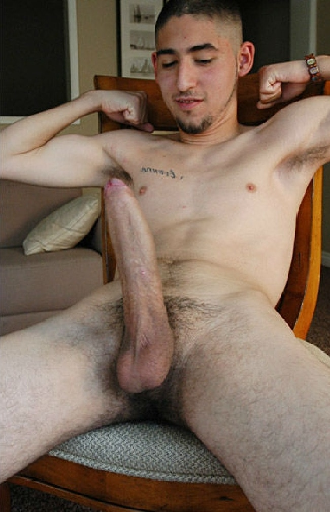 Nude Guy With Big Cock
